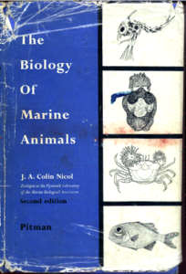 The Biology of Marine Animals by J. Colin Nichol.