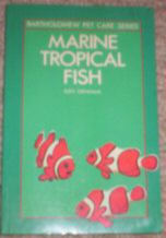 Marine Tropical Fish and Marine aquarium books