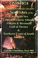 The Sea Fishes of the Caribbean and Central Western Atlantic. South Carolina to Guyana. Taxonomic Classification.