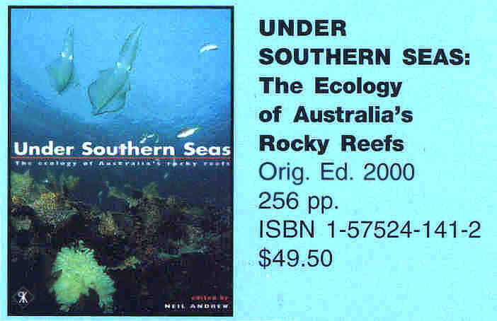 Under Southern Seas; The Ecology of Australia's Rocky Reefs