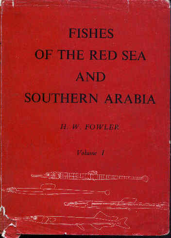 Fishes of the Red Sea and Southern Arabia.