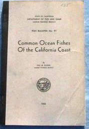 Common Ocean Fishes of the California Coast